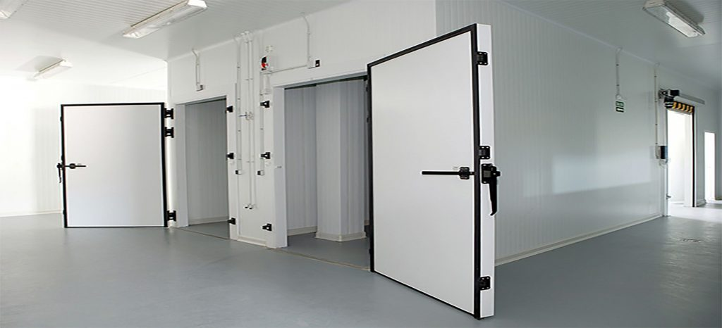 install industrial cold storage